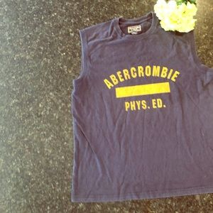 Abercrombie & Fitch muscle tank top T shirt men's